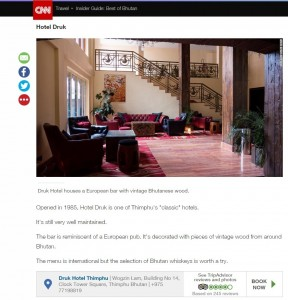 Thank you CNN TRAVEL for recognizing us