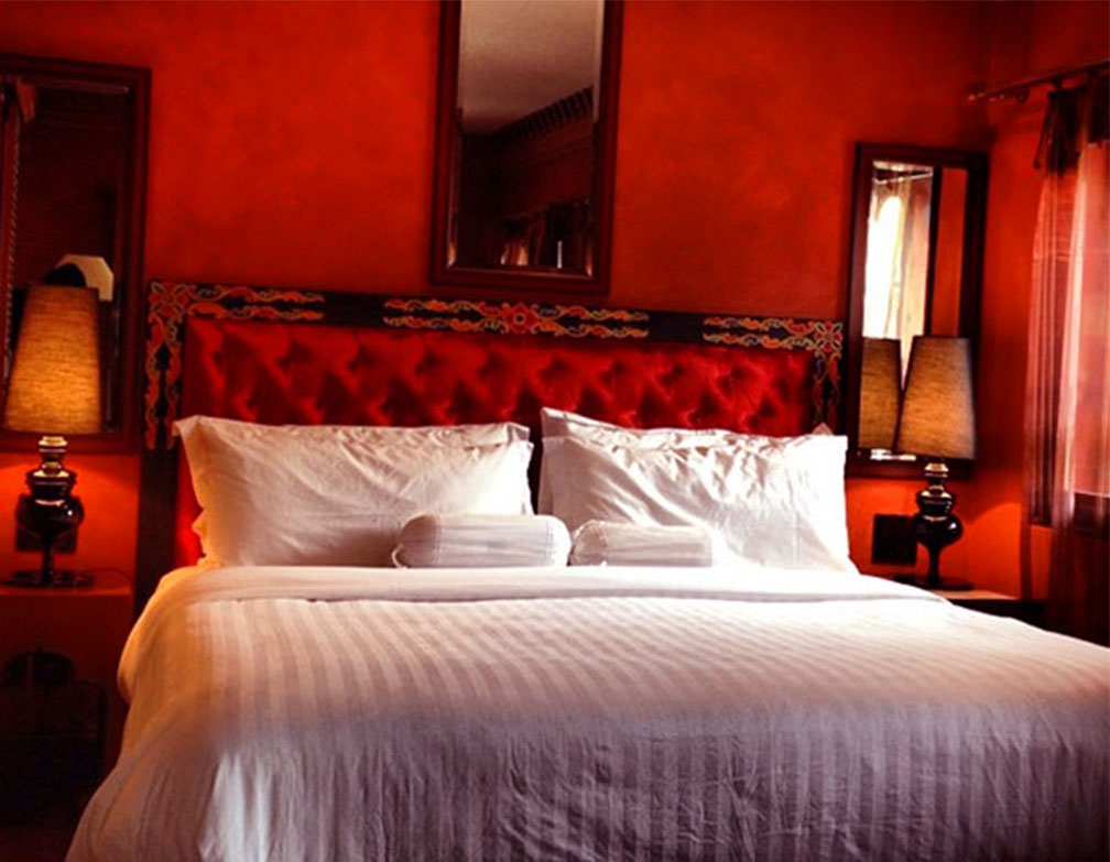 Red Deluxe Rooms